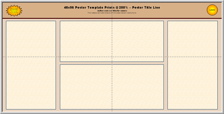 Free template poster powerpoint