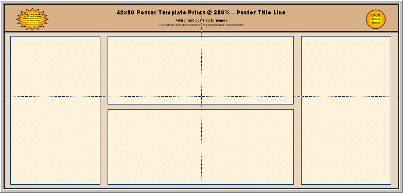 how to make a scientific poster in powerpoint 2007